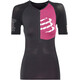 Compressport Triathlon Postural Aero Short Sleeve Top Women Black